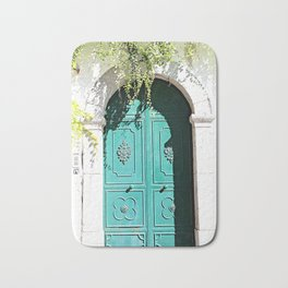 Turquoise Door in Amalfi Bath Mat