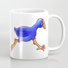 Running Pukeko - Swamp hen Coffee Mug