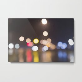bohek lights Metal Print