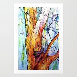 """Berkeley Eucalyptus"" Art Print"