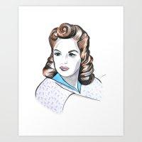 minnie Art Prints featuring Minnie by Christie  Elise