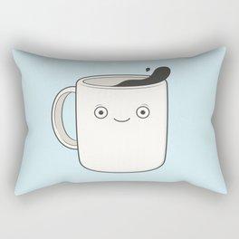 whoa, coffee! Rectangular Pillow