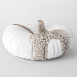 Bunny Tail Floor Pillow