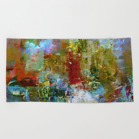 A contemporary place Beach Towel