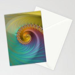 Tropical Bird - Fractal Art  Stationery Cards
