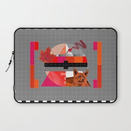Waiting for the show to begin (Test Pattern 6) Laptop Sleeve