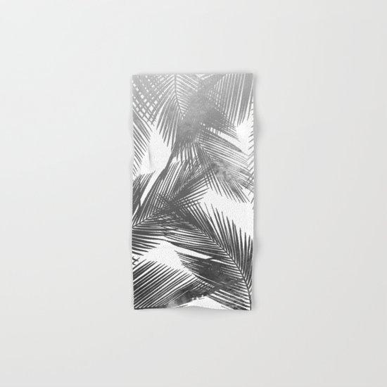 Palms BW Hand & Bath Towel