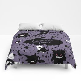 Lavender Town Comforters