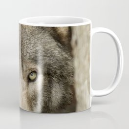 The intensity of the timber wolf Coffee Mug