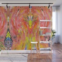 Breaking the Crystal Vase Wall Mural