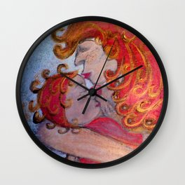 Treasured Moment Wall Clock