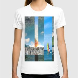 City through the Lake T-shirt