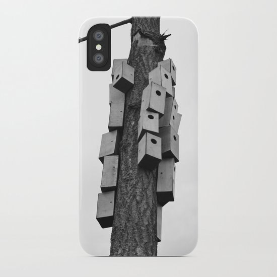 cozy neighborhood iPhone Case