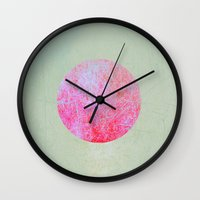 earth Wall Clocks featuring earth by Claudia Drossert