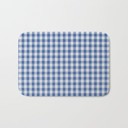 Remember Vichy (blue) Bath Mat