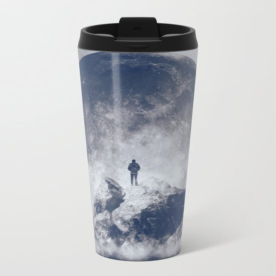 Too Close Metal Travel Mug