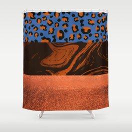 Urban Jungle - Pattern Mix Shower Curtain