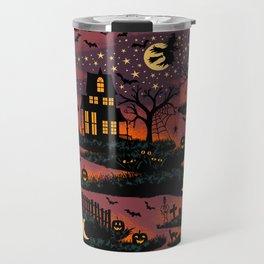 Halloween Night - Bonfire Glow Travel Mug