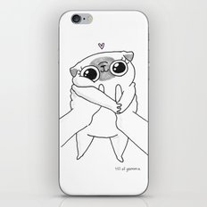baby Mochi iPhone & iPod Skin