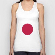 Flag of Japan Unisex Tank Top
