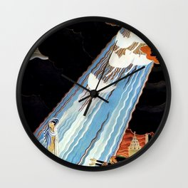 """Six Swans"" Kay Nielsen Fairytale Illustration Wall Clock"