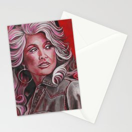 Dolly Parton in Pink Stationery Cards