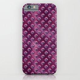 Futuristic Purple iPhone Case
