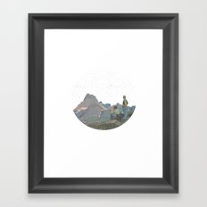 Planet Framed Art Print