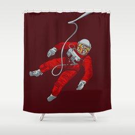 Cosmic Bubblegum Shower Curtain