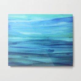 Cerulean Sea Metal Print