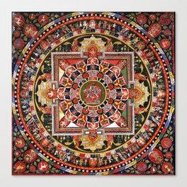 Buddhist Mandala 41 Chakrasamvara Luipa Canvas Print