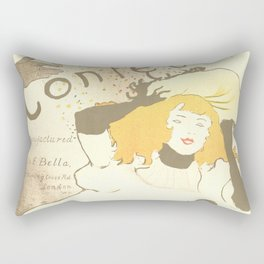 "Henri de Toulouse-Lautrec ""Confetti"" Rectangular Pillow"