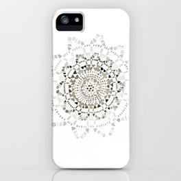 Watercolor Doily - Katrina Niswander iPhone Case