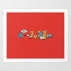 Who's Cute Now!? Art Print