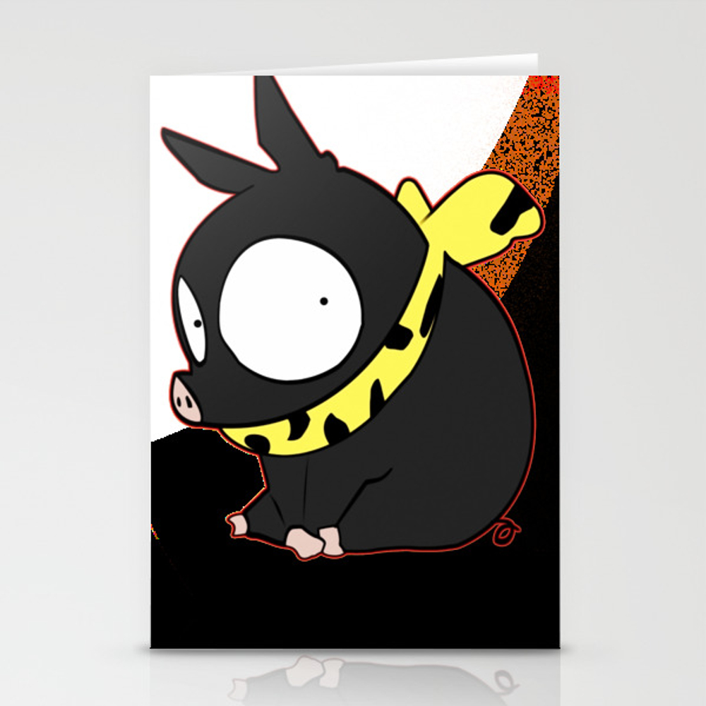 Ranma 1/2 - Ryoga The Pig Stationery Cards by Thanart CRD8914681