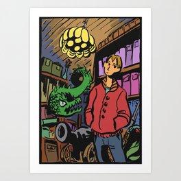 In the cellar Art Print