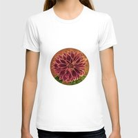 dahlia T-shirts featuring Dahlia  by maggs326