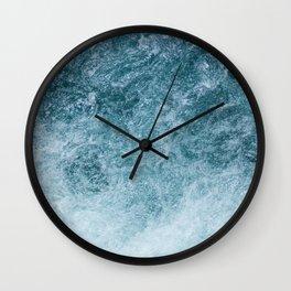 Mountain Waters II Vertical (Norway) Wall Clock