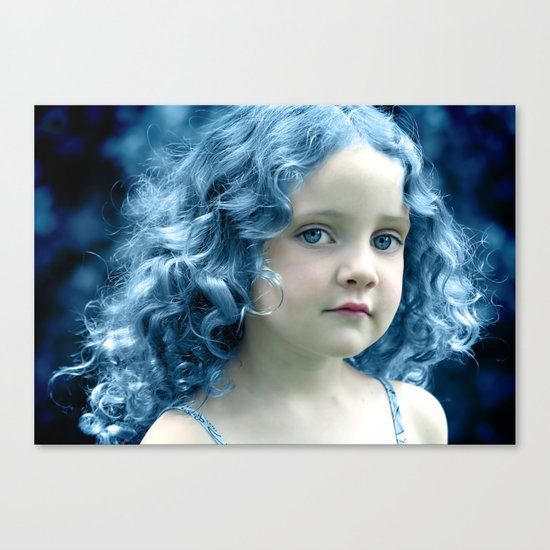 When the Blues Sing Canvas Print