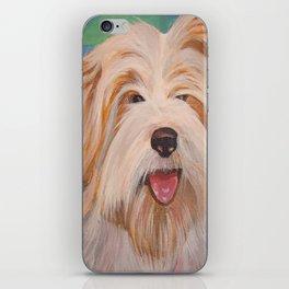 Terrier Portrait iPhone Skin