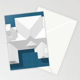 Roofscape #8 Stationery Cards