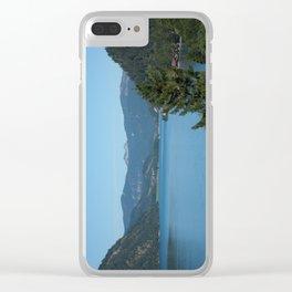 Achen Lake Clear iPhone Case