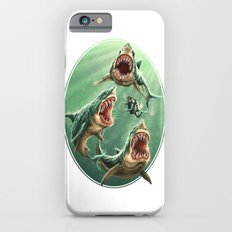 Great White Sharks #1 iPhone 6s Slim Case