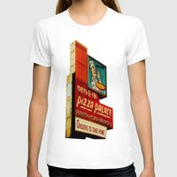 pizza T-shirts featuring Pizza by Hazel Bellhop