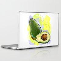 vietnam Laptop & iPad Skins featuring Vietnam Avocado by Vietnam T-shirt Project