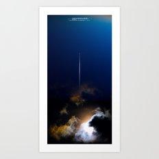 uux teaser poster: the survivor Art Print