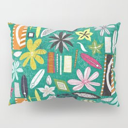 beachy jade Pillow Sham