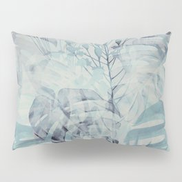 Tropical in Grey Pillow Sham