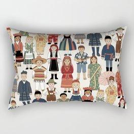 Internatonal Kids Rectangular Pillow