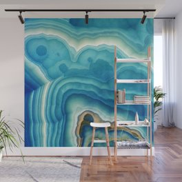 Blue Onyx Wall Mural